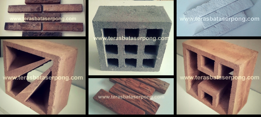 Jual Bata Tempel, Bata Ekspos, Roster, Paving, Keraton, Dll